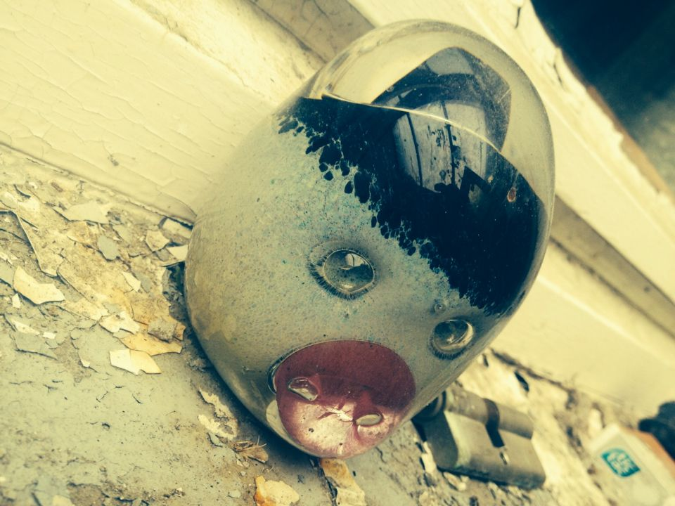 Also found in one of the abandoned houses @Doel