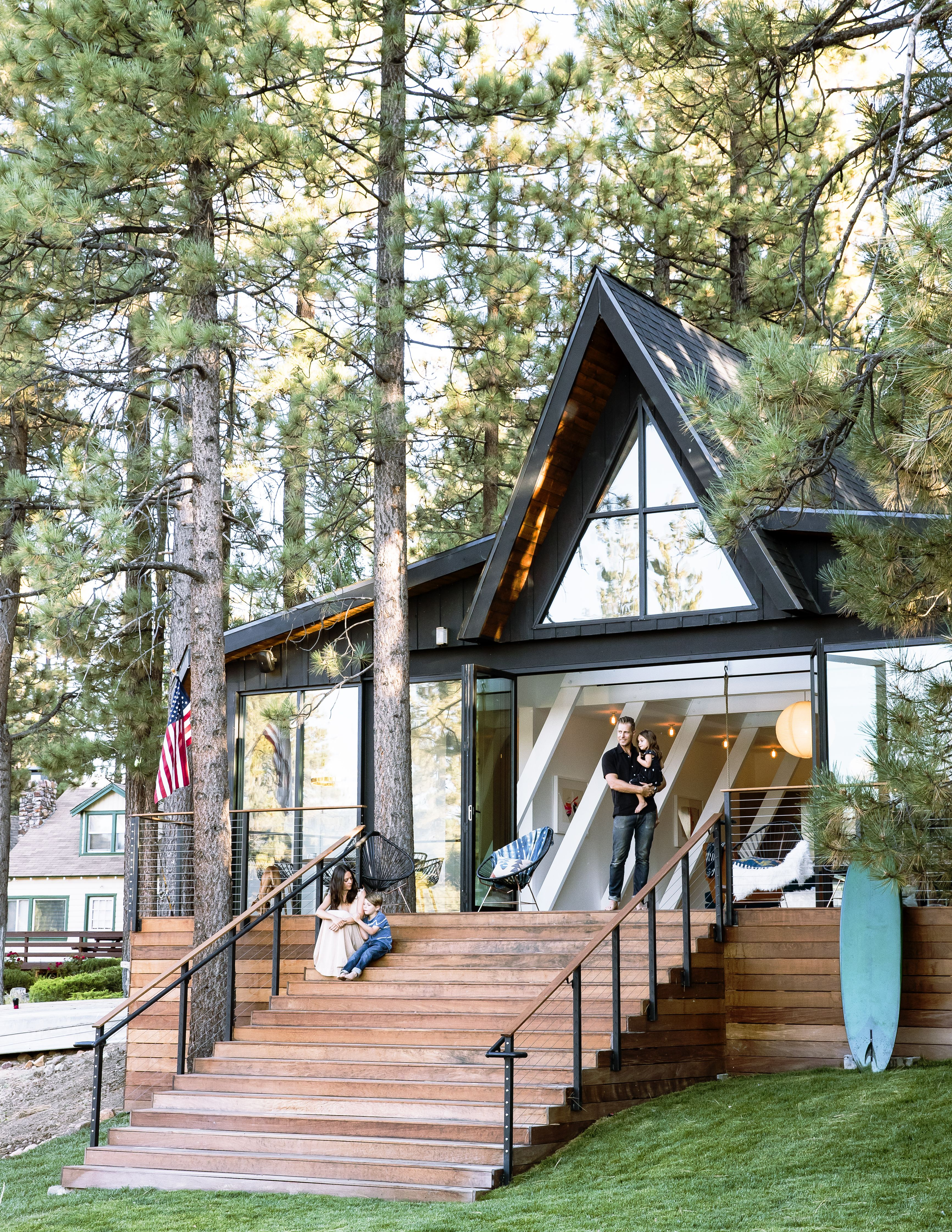 stunning a frame those stairs ulkona pinterest cabin