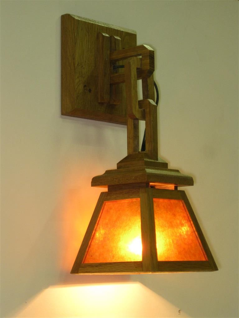 Craftsman Lighting Single Shade Used As Sconce Adirondack Craftsman Lighting Craftsman Lighting Craftsman Lamps Art Deco Lamps