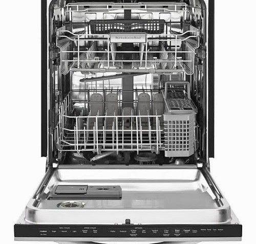Kitchen Kitchenaid Dishwasher Reviews And Black And White Kitchens