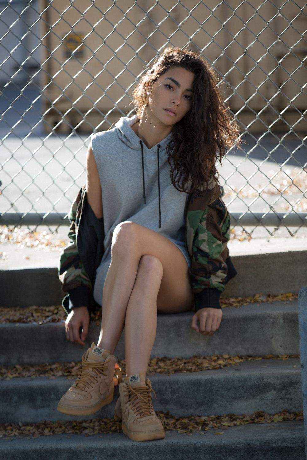 Air Force 1 High Outfit : force, outfit, Force, (SWEAT, STYLE), Outfit,, Trending, Outfits,, Fashion