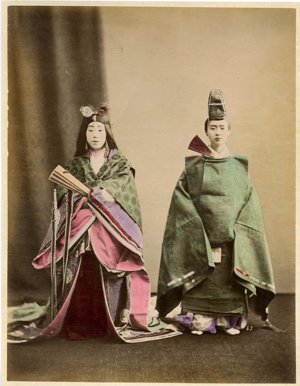 Court couple by Tamamura Kozaburo