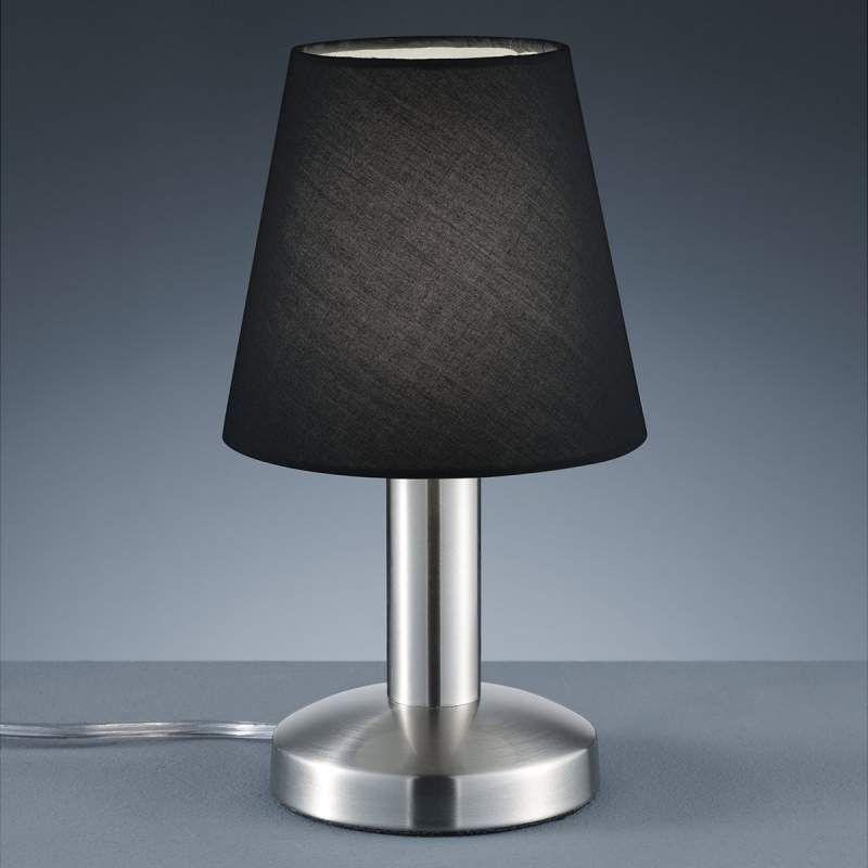 Schwarze Tischleuchte Merete M Touch Schalter Von Trio Leuchten Tischleuchte Lampen Und Nachttischleuchte