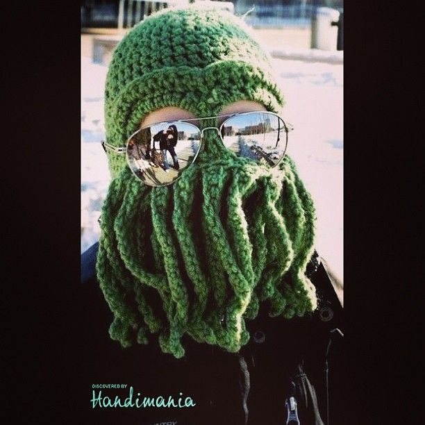 Cthulhu hat by handimania | Winter | Pinterest | Fotos, Hüte und Ctulhu