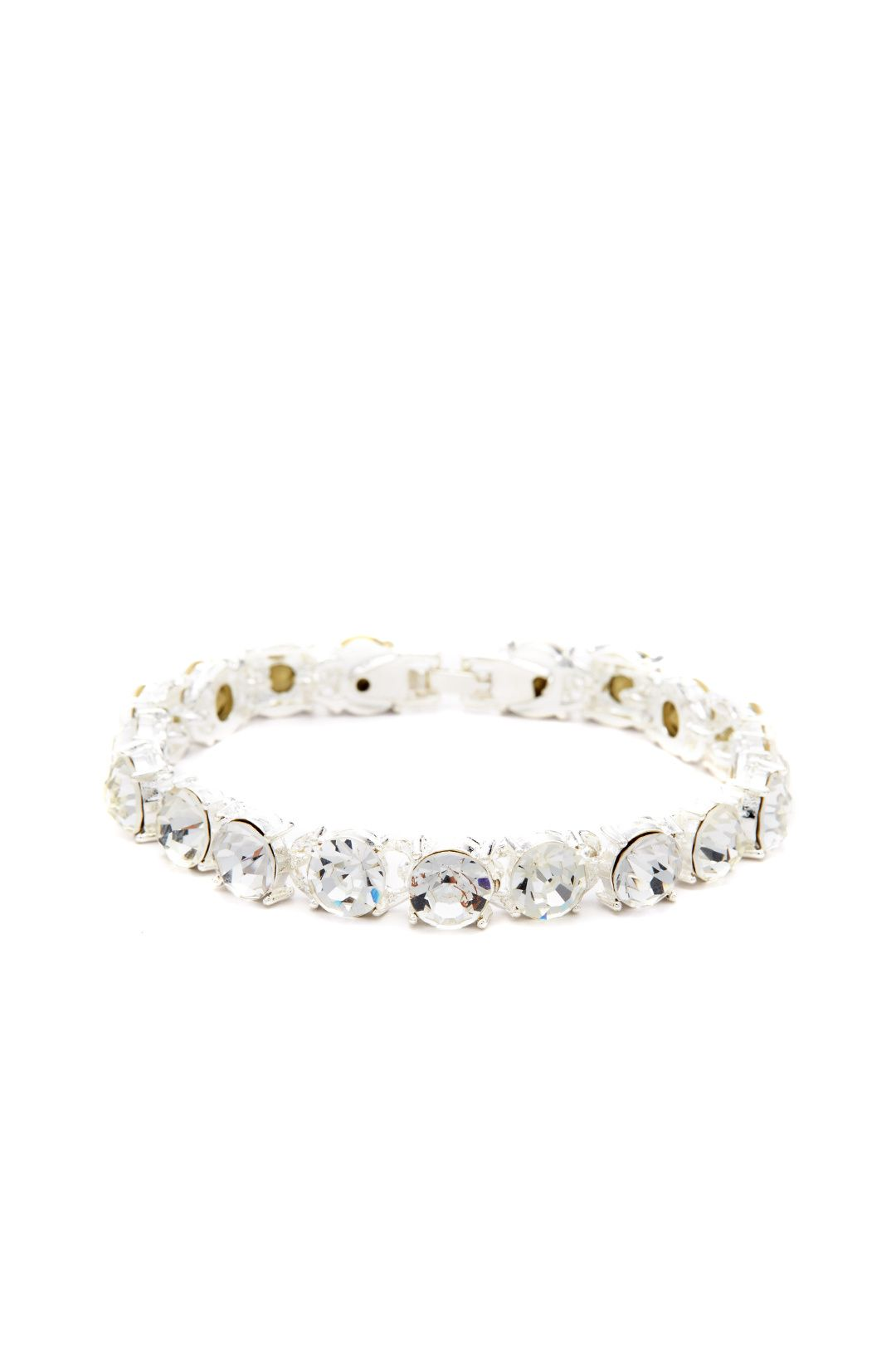 b85ff77c26b6b6 Luxe Crystal Tennis Bracelet by Slate   Willow Accessories for  5