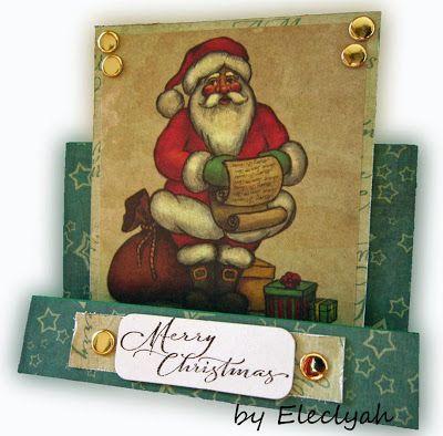 Father Christmas and his list