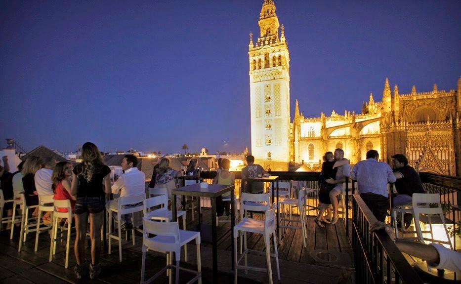 Hotel Eme Sevilla Terraza Sevilla Terrazas Y Ciudades