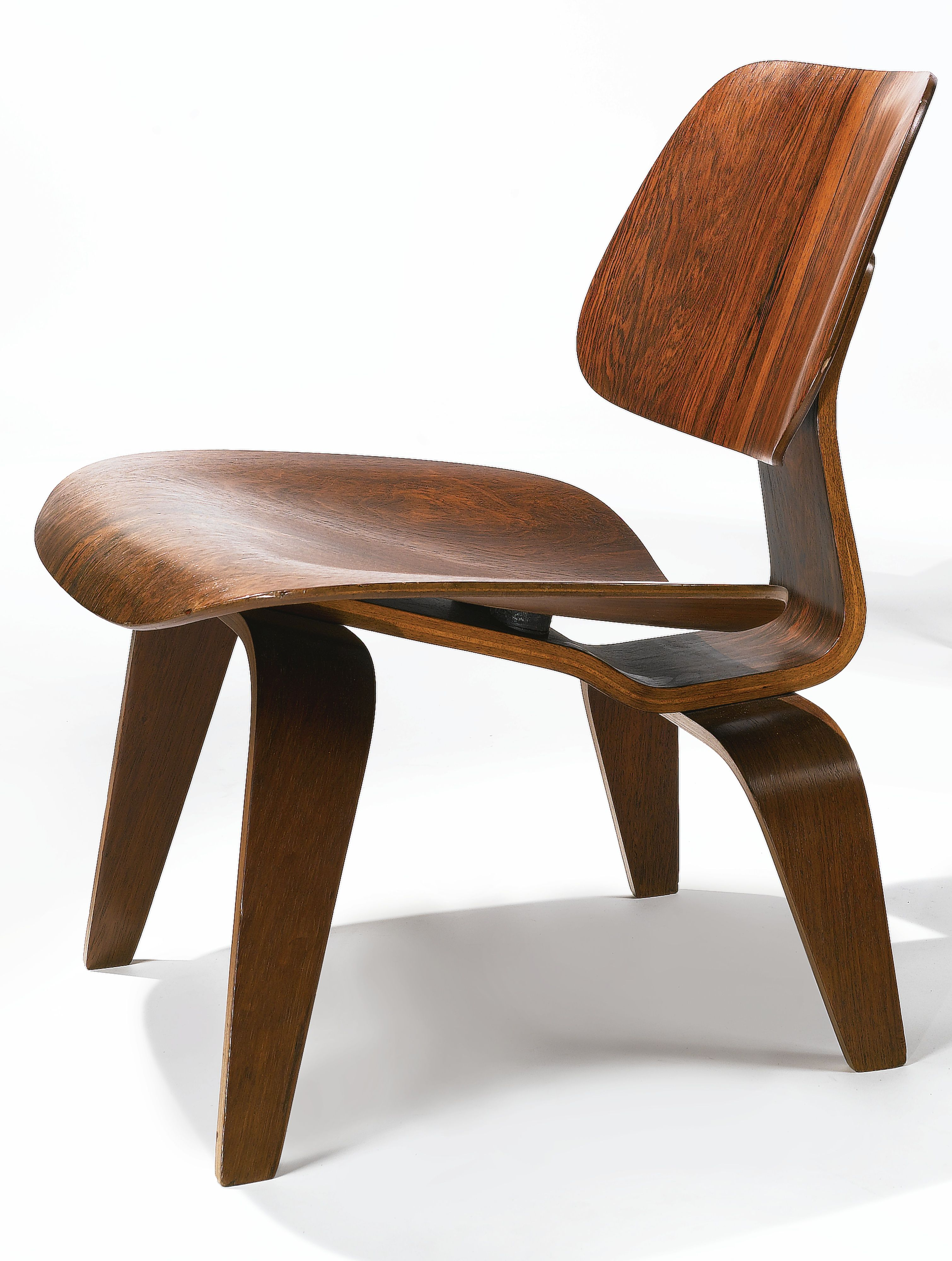 charles and ray eames lcw lounge chair wood a rare example