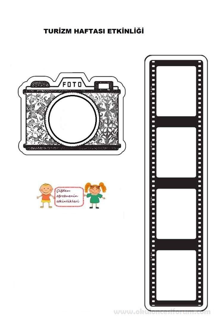Gezdigim Yerler Fotograf Makinemde Okul Okul Oncesi Ve Fotograf