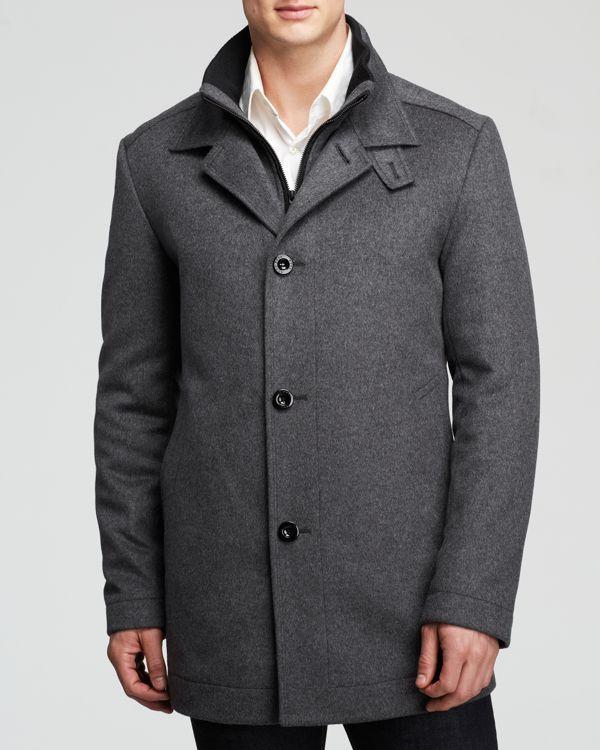 b4243856bc Boss Hugo Boss Coxtan Coat Vestes De Créateur Pour Hommes, Vestes D'hiver,