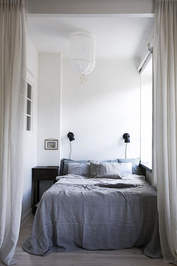 Curtains As Bedroom Divider With Images Bedroom Divider