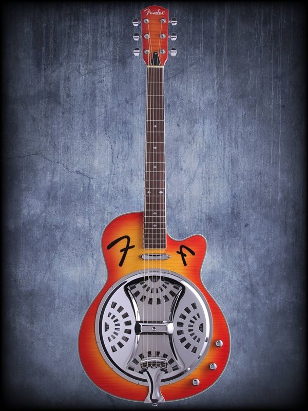 Fender Fr50ce Resonator Acoustic Electric Guitar Guitar Acoustic Electric Guitar Electric Guitar