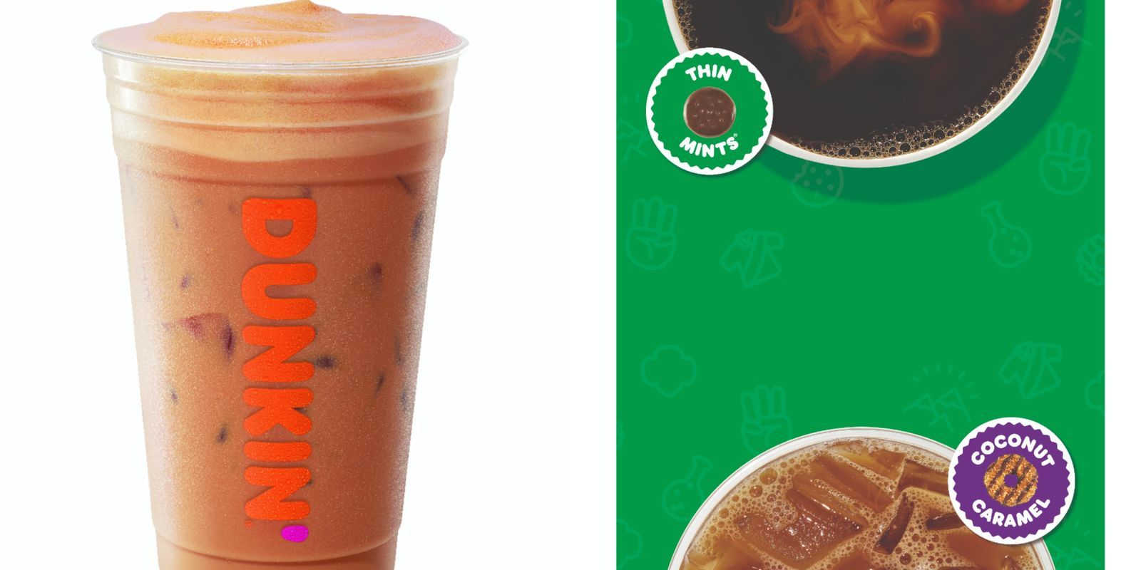 Dunkin' Is Bringing Back Its Thin Mint And Coconut Caramel