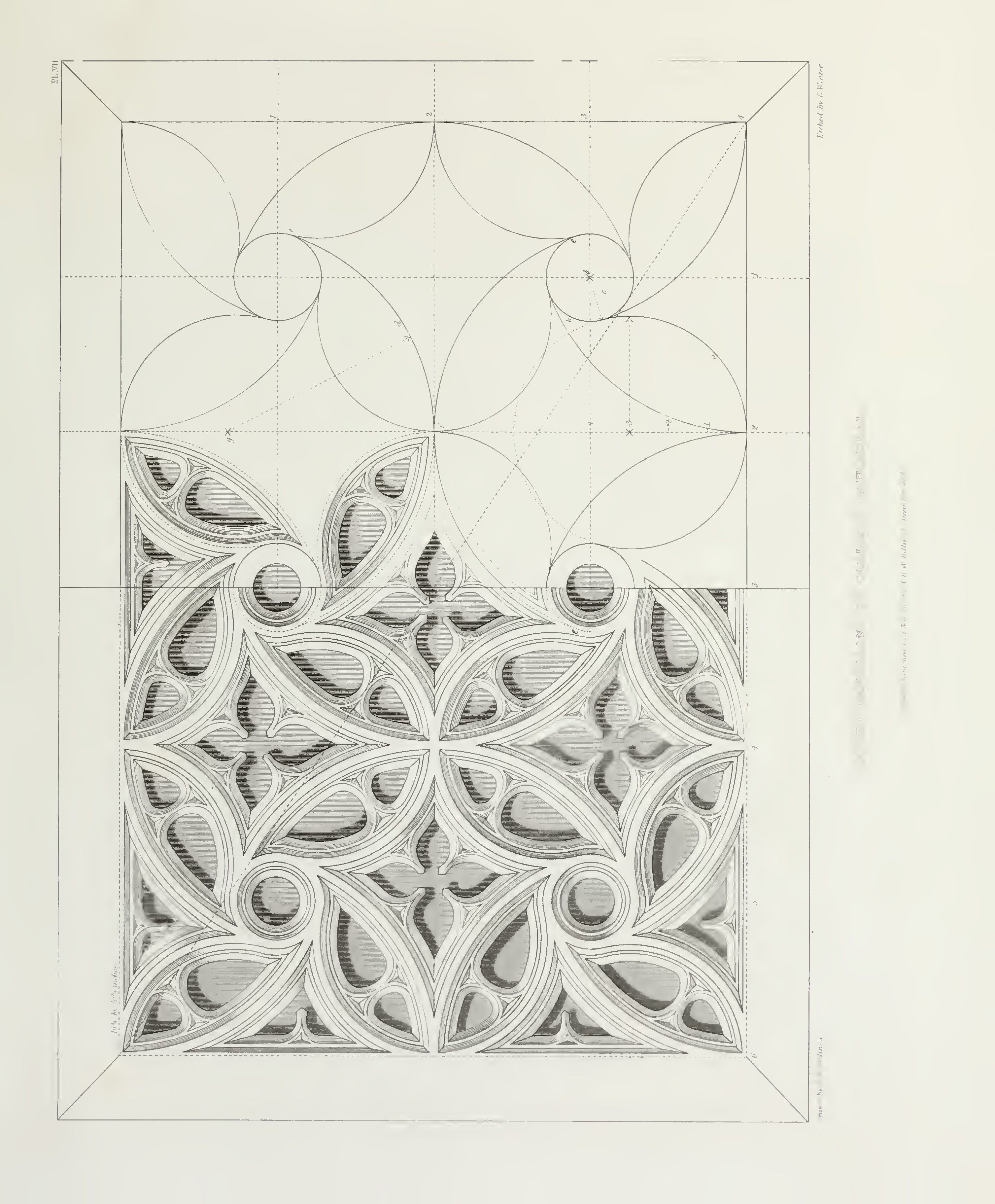 Architectural Drawing Patterns In 2020 Geometric Pattern Design