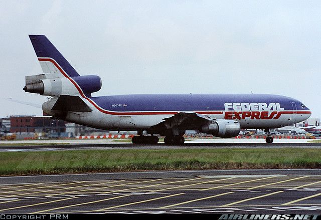 Vintage Fedex Plane Aka Federal Express It S Quite A Thrill To