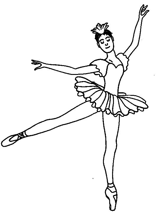 Bailarina De Ballet Dibujo Ballerina Coloring Pages Coloring Pages Dance Coloring Pages