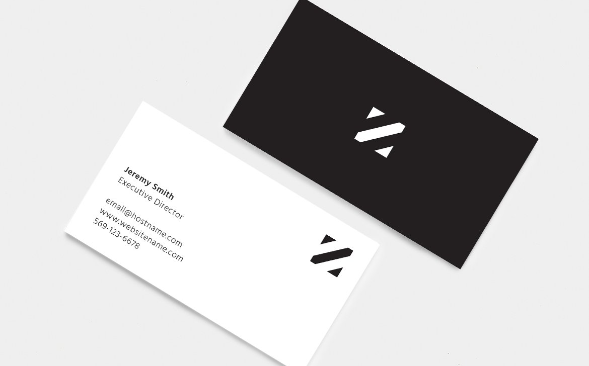 Minimalist Business Cards Corporate Identity Template #82372