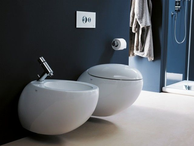 Laufen Alessi One wall-hung toilet and bidet
