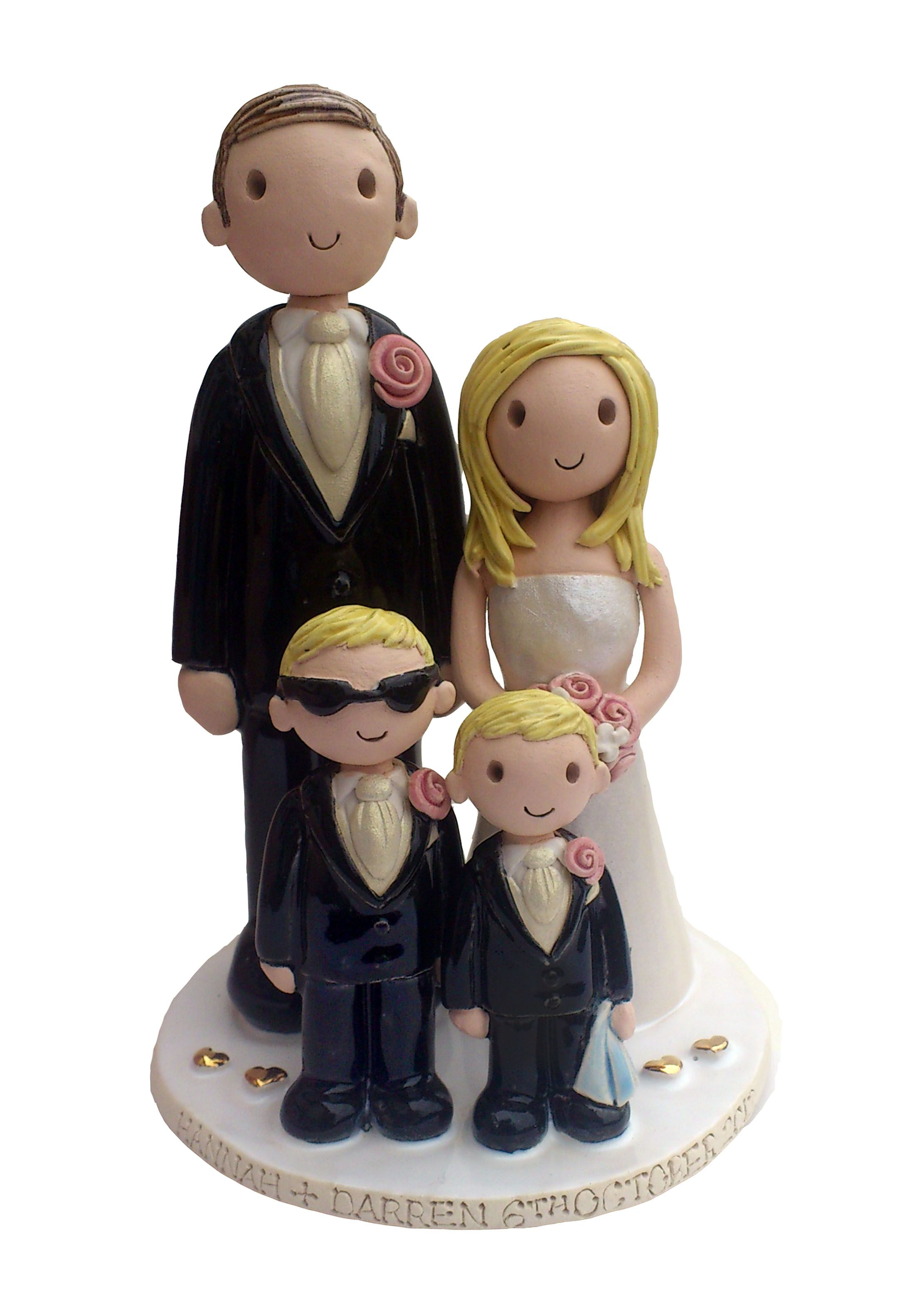 family cake toppers - can find superheroes, star wars, etc. These ...