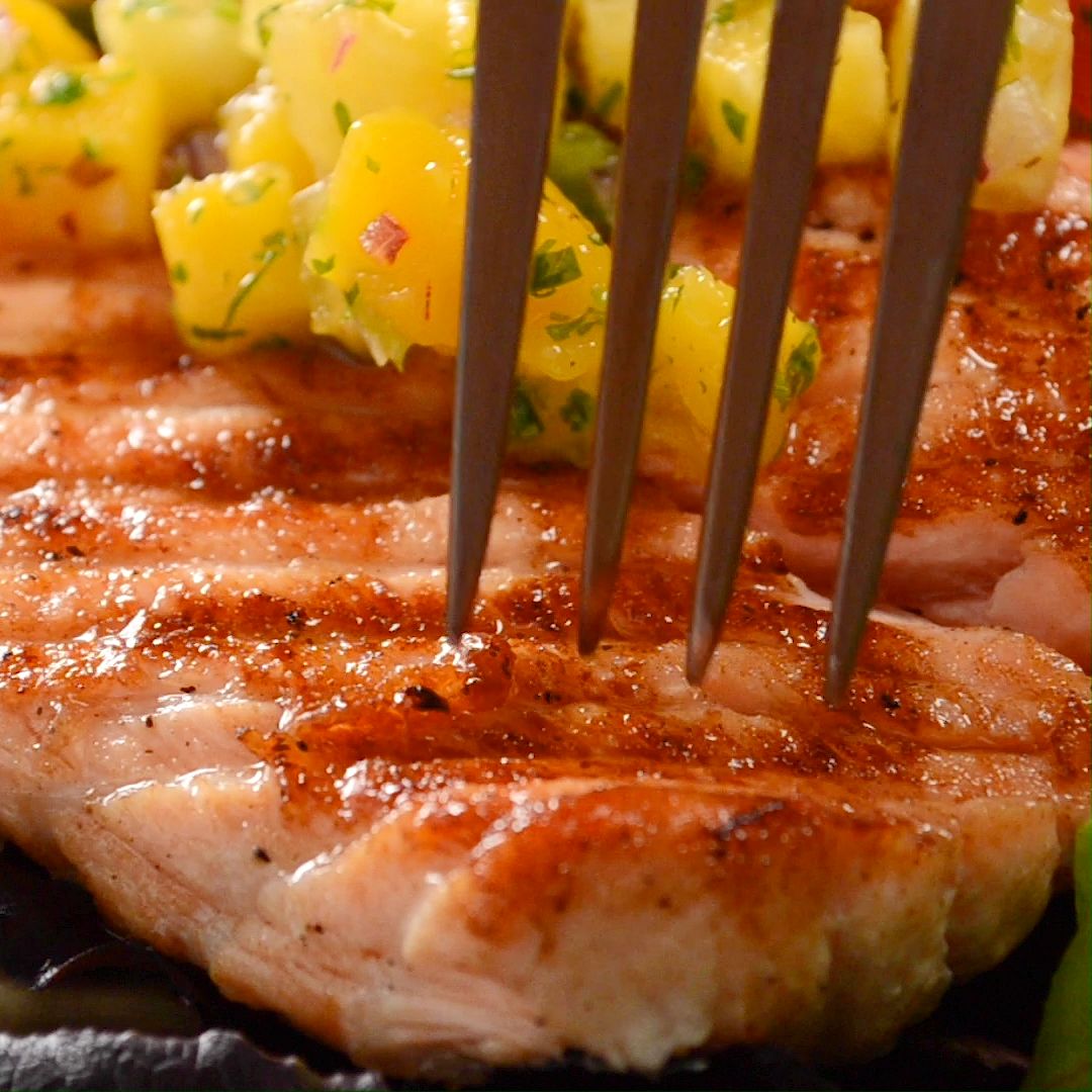 Photo of EASY GRILLED SALMON & GREAT GRILLING TIPS