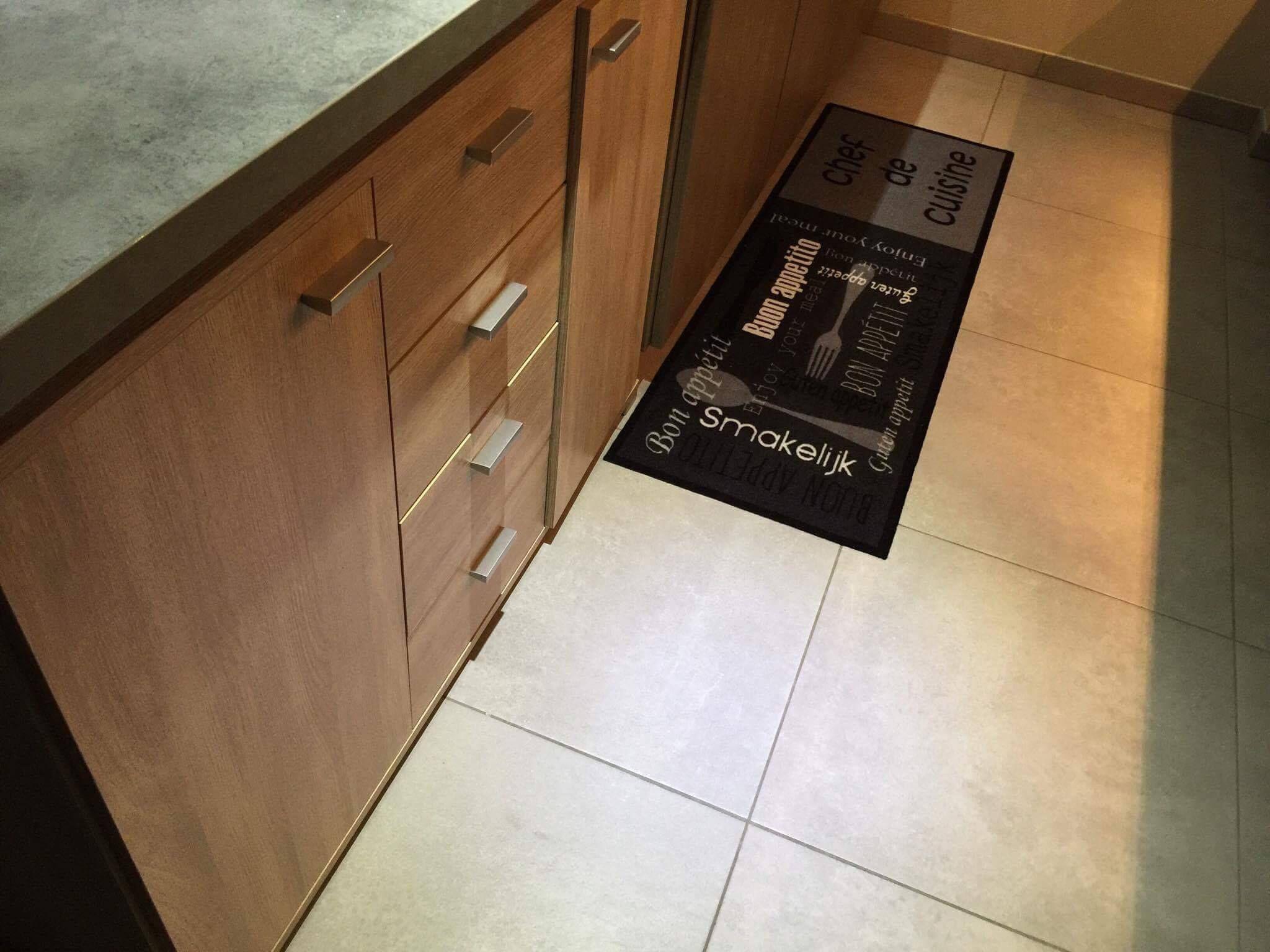 Keuken Wandkast 6 : Kast #luna 6 ingewerkt in keuken. samen met een bijpassende