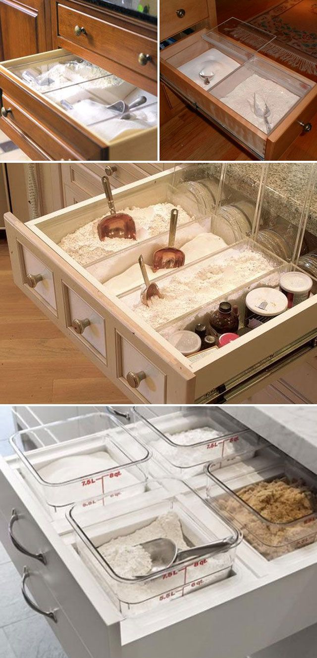 17 Practical Tips to Easily Organize Your Baking Supplies #cookietips