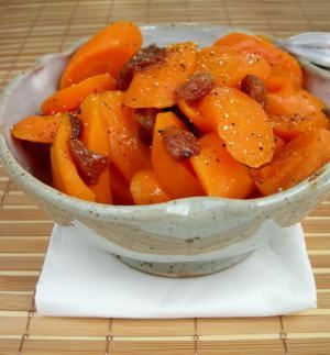 Maple-Glazed Pressure Cooker Carrots Tender, bright and flavorful, these carrots taste like sweet potatoes... but they're not! They were so easy to make, that I could not even justify four squ