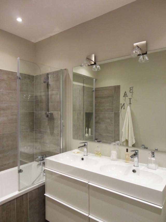 les 25 meilleures id es de la cat gorie salle de bain 5m2 sur pinterest salle de bain 6m2. Black Bedroom Furniture Sets. Home Design Ideas