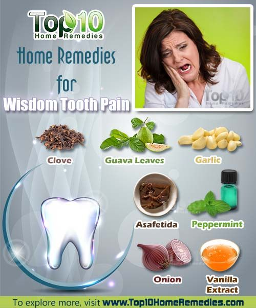 How To Stop Wisdom Tooth Pain Home Remedies