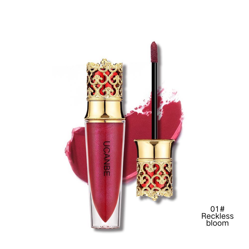 UCANBE Brand Crown Velvet Matte Lipstick Makeup Golden 5 Color Nude