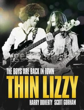 The First Thin Lizzy Memoir The Boys Are Back In Town Thin Lizzy Vintage Music Posters Heavy Metal Music