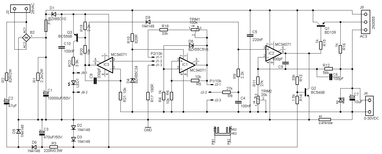 hight resolution of 30v 4a adjustable bench power supply