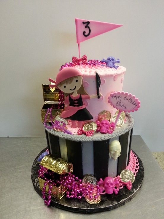 Pirate Cake Hunter And Bentleys Cake Idea With Images
