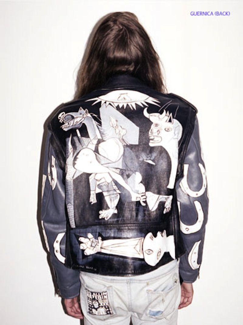 Leather jacket diy - Outsapop Trashion Diy Fashion By Outi Pyy