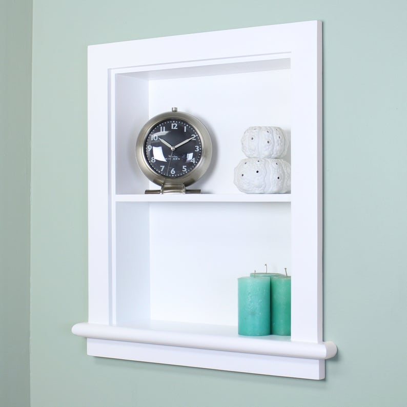 14x18 Recessed Aiden Wall Niche By Fox Hollow Furnishings Etsy In 2021 Wall Niche Niche Wall Recessed Medicine Cabinet 14 x 18 recessed medicine cabinet