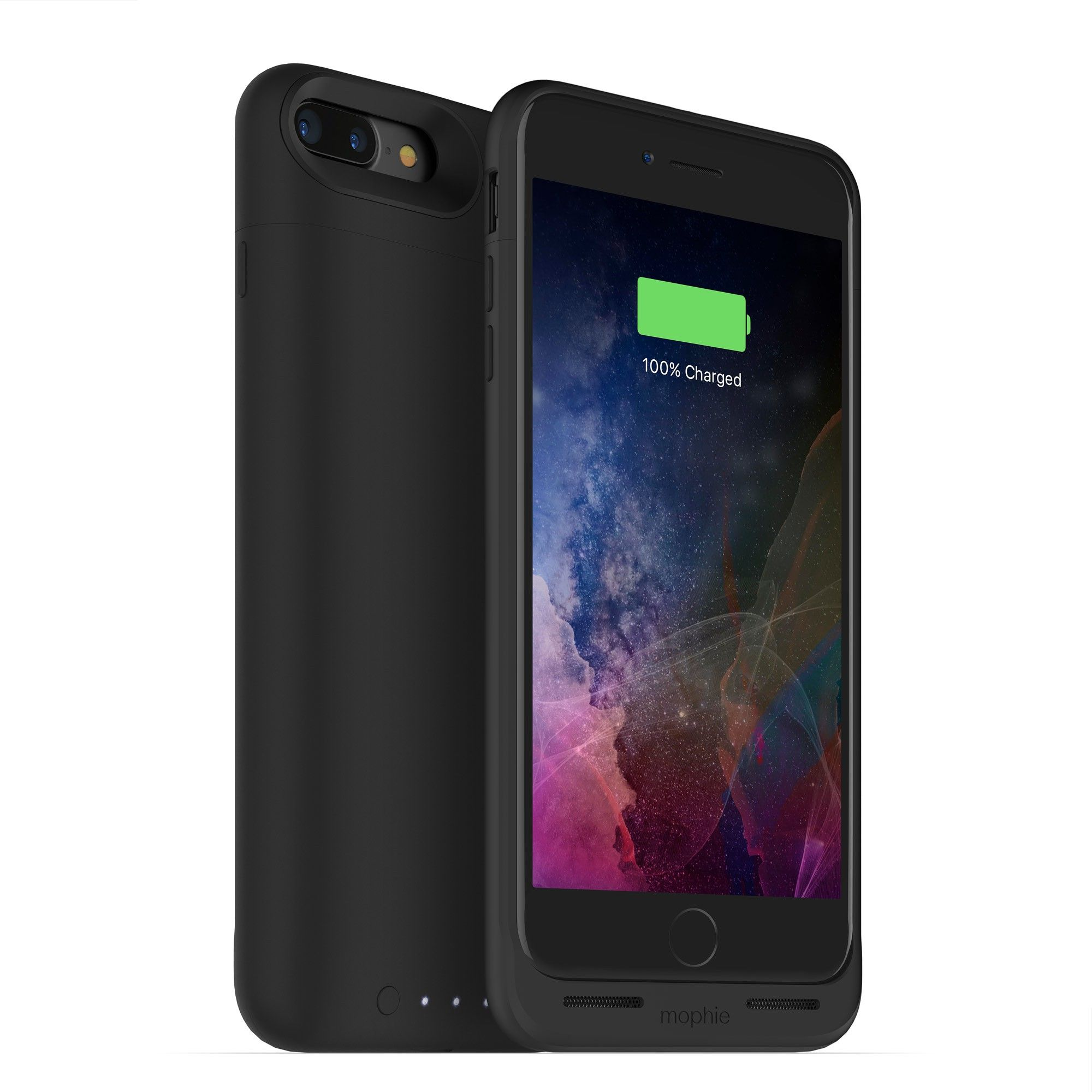 fed366fe773 mophie juice pack air protective battery case with wireless charging  compatible with iPhone 7 Plus and magnetic charge force accessories
