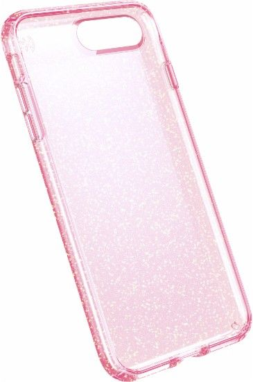 finest selection 2ee93 2998e Speck - Presidio clear+glitter Case for Apple® iPhone® 7 - Rose pink ...