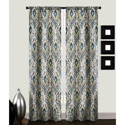 Richloom Home Fashions Carrera Curtain Panels