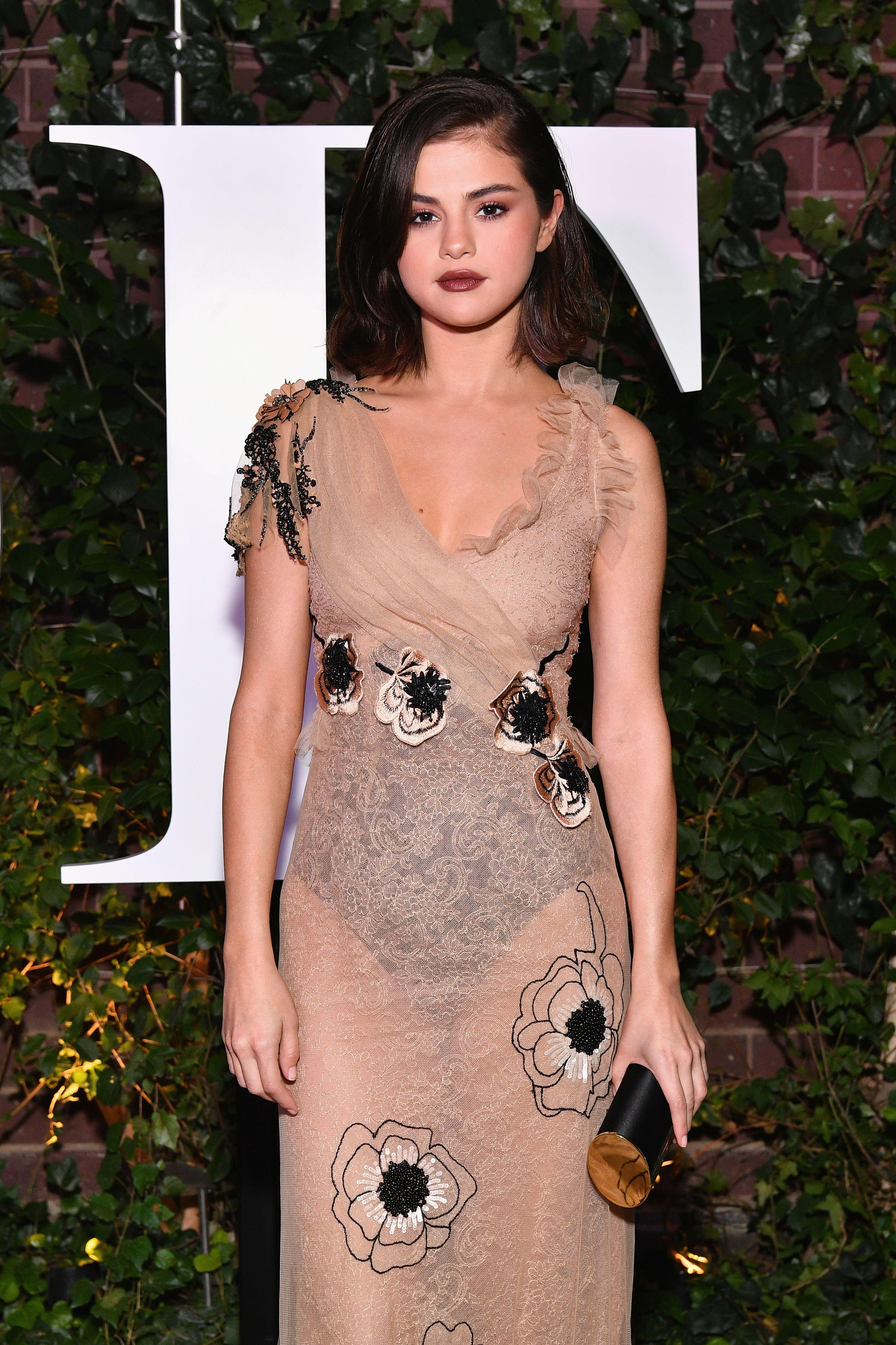 102f8bc000 Selena Gomez - The Business of Fashion 500 Gala