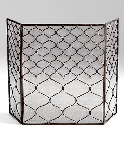 Blakewell Firescreen Enhance Your Fireplace Whether In Use Or