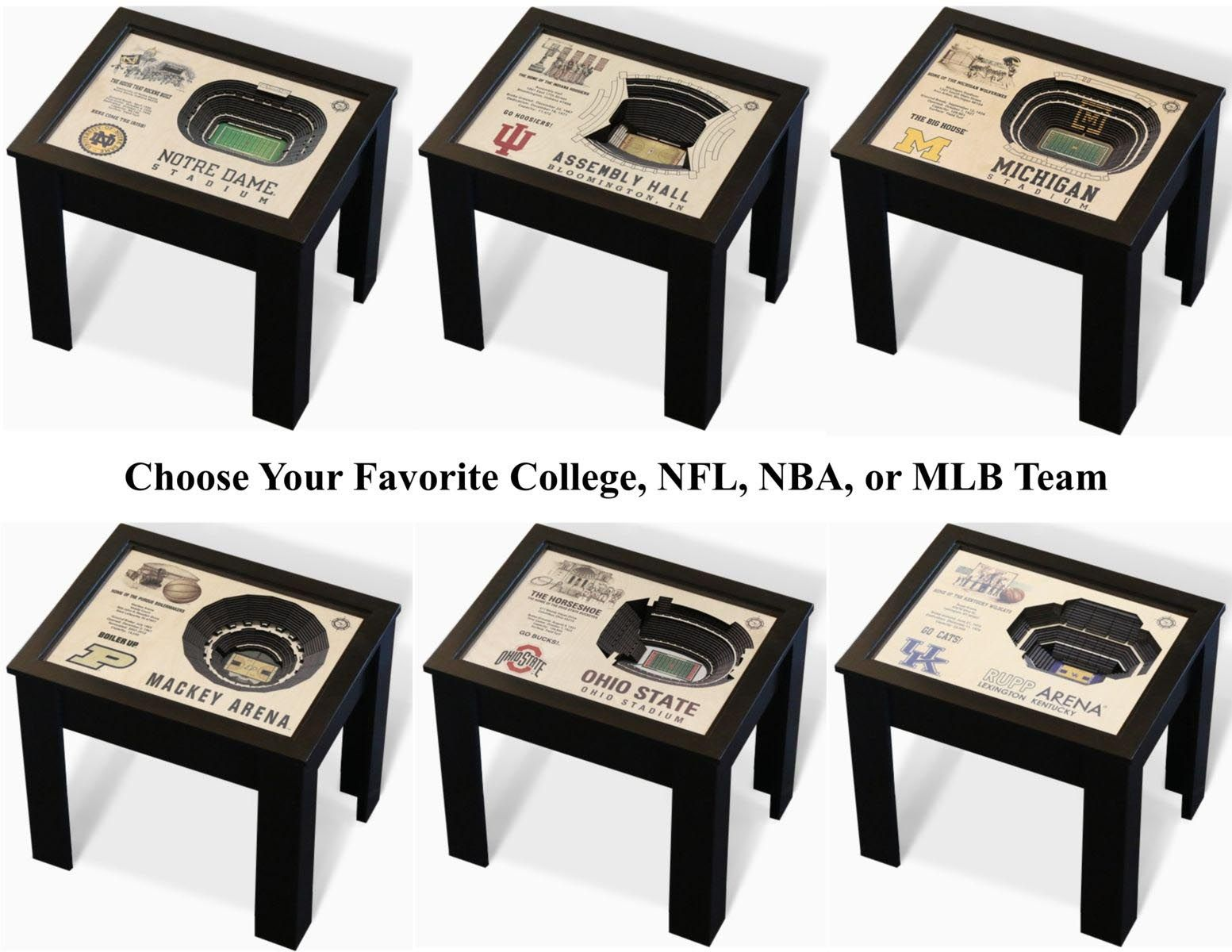 Cool college coffee tables