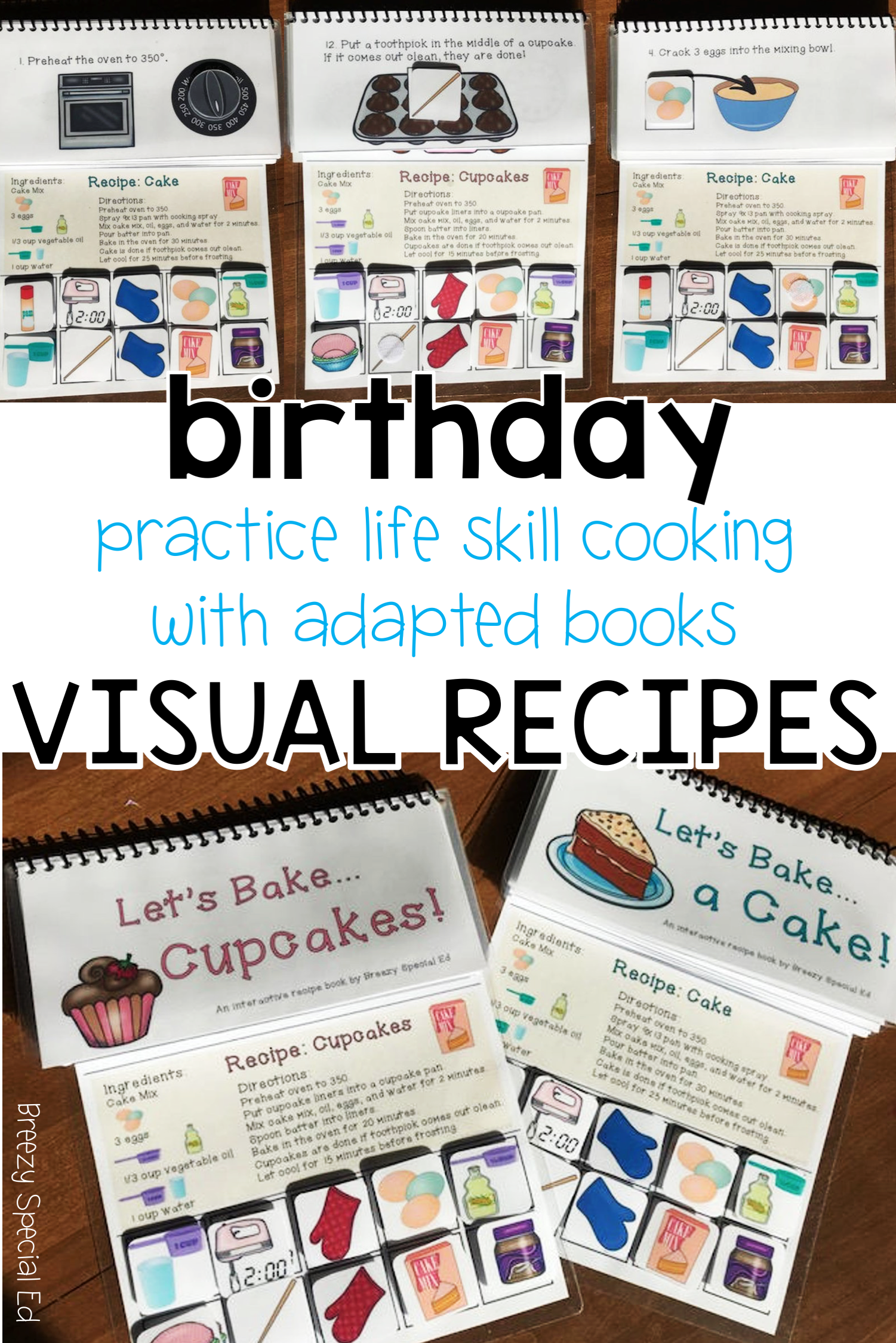 Interactive Cooking Lessons Visual Recipes Cake And