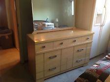 1950 S Original Blonde Wood 4 Pc Bedroom Furniture Set Pick Up Only Troy Mi Bedroom Furniture Sets Used Bedroom Furniture Furniture