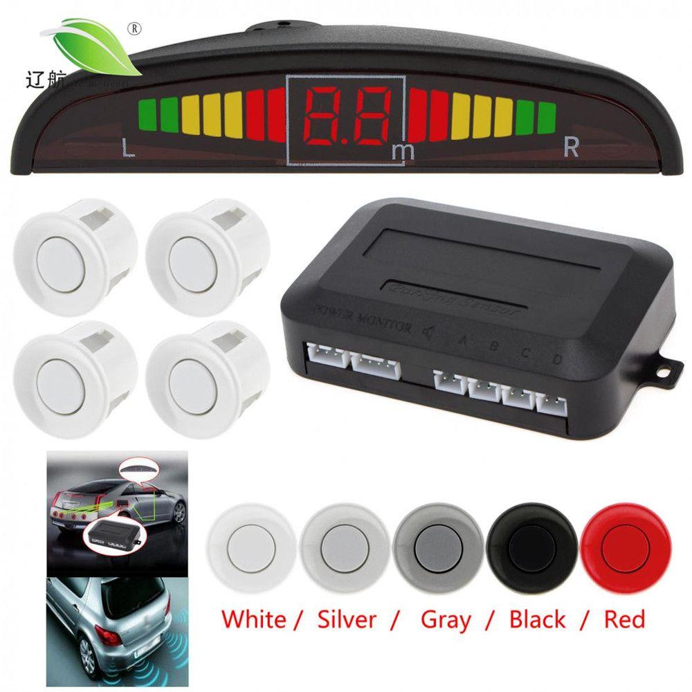 promo light heart car auto parktronic led parking sensor