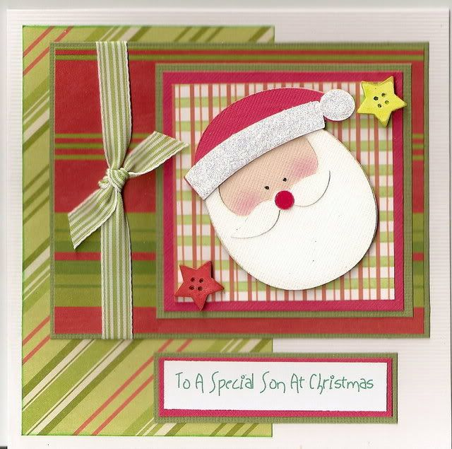 cute Christmas card - using Doodlecharms #Cricut #Scrapbooking