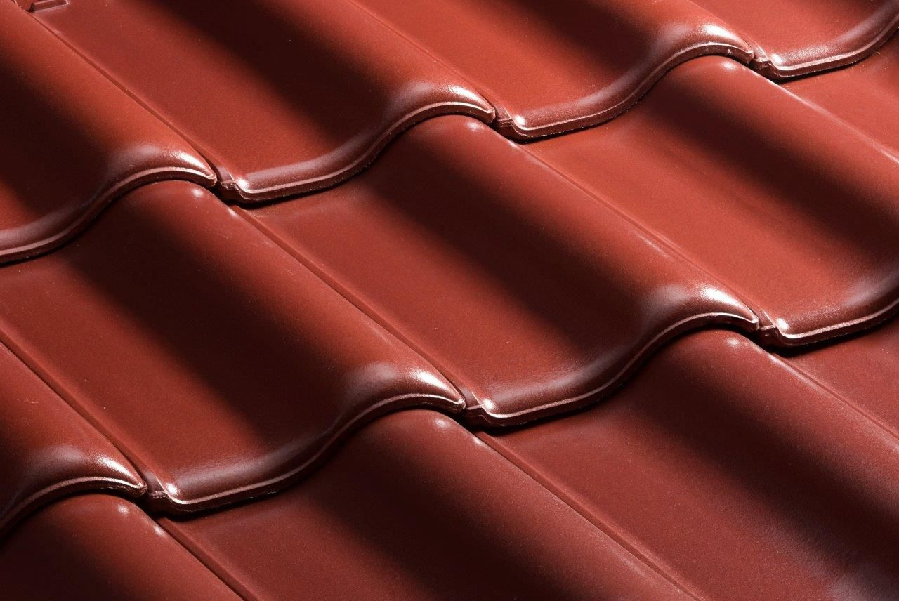 Best Tile Roof E58 Sl Maroon Noble Engobed Maroon 400 x 300