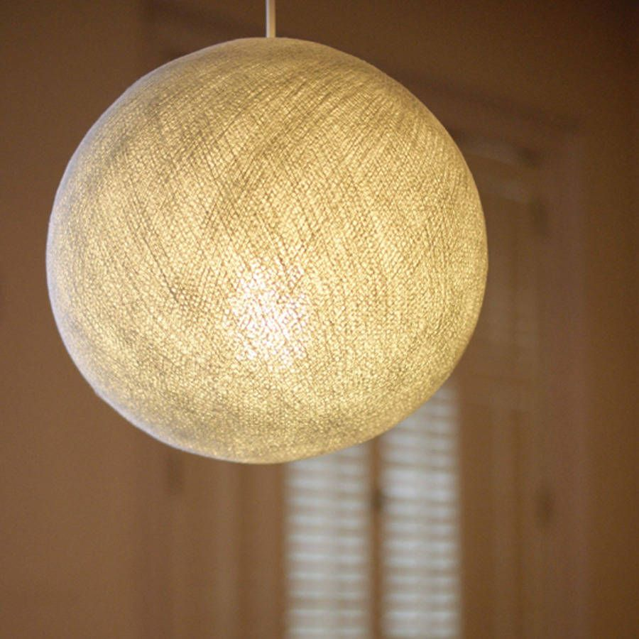 Circular Cotton Ceiling Lampshade Living room project Pinterest