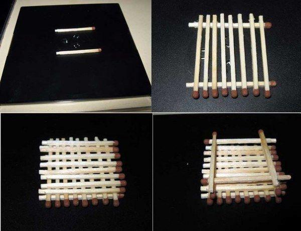 Домик из спичек без клея - Сделай сам - Инструкции 82