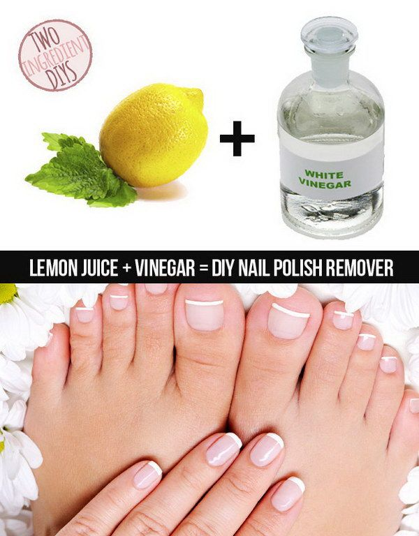 Homemade Nail Polish Remover and Alternatives | Homemade nail polish ...
