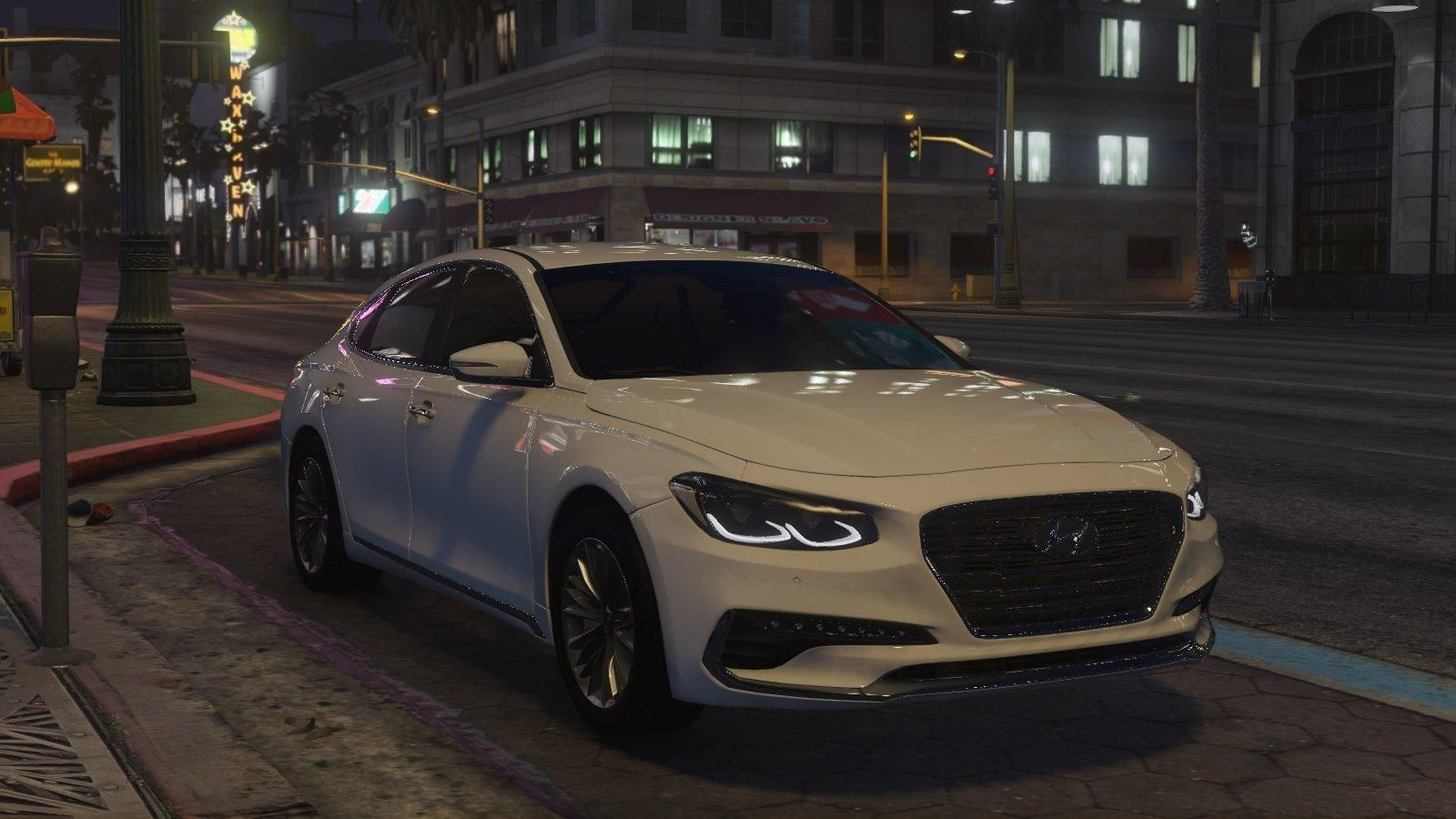 Hyundai Azera 2018 Gta5 Mods 1600x900 22944 In